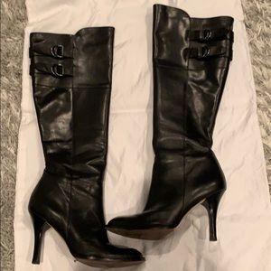 Cole Han Air Georgina Knee High Leather Boot